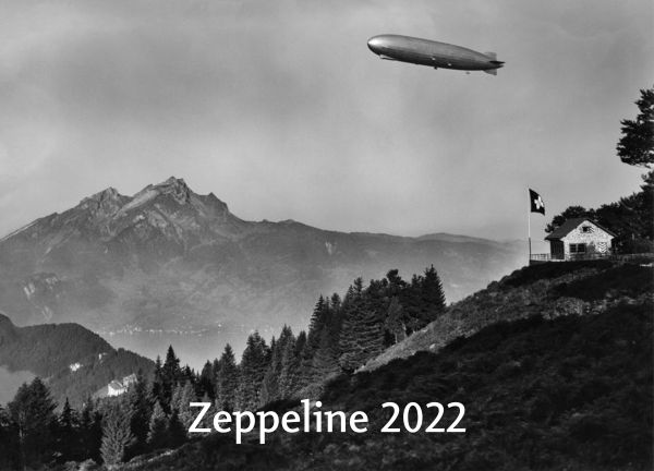 Historischer ZEPPELIN-KALENDER 2022