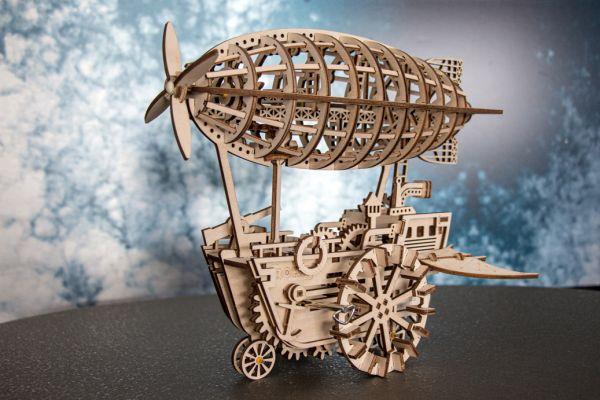 3D Holz Puzzle - Zeppelin