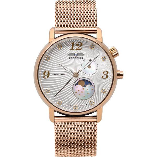 Zeppelin Damen Uhr Luna 7639M-4 Luna
