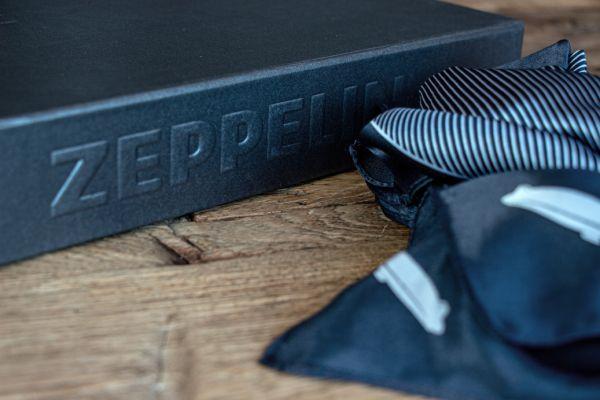 """Seidentuch """"Zeppelin"""" inkl. Geschenkbox"""