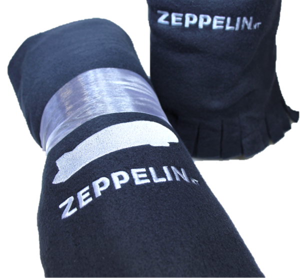 Fleece Decke Zeppelin