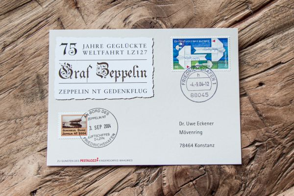 Zeppelin Luftpost