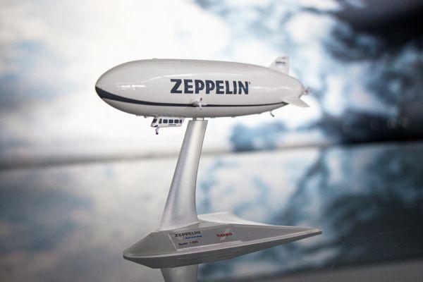 Zeppelin NT Modell 1:500 Grau von Herpa