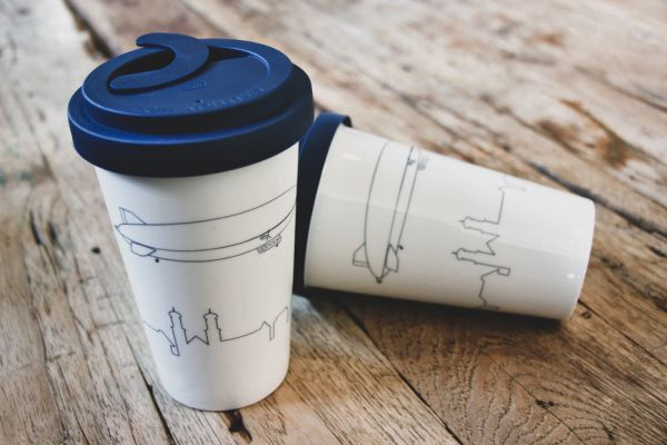 Coffee to go Thermobecher inkl. Deckel mit Locksystem