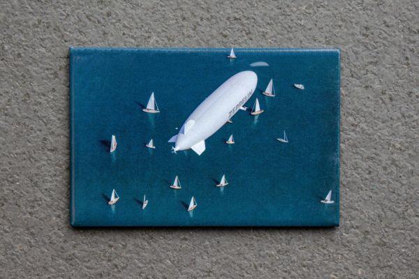 "Foto Magnet ""Zeppelin NT"" 10"