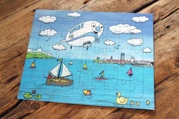 Zeppelin Kinder Puzzle