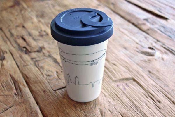 Coffee to go Thermobecher inkl. Deckel mit Locksystem