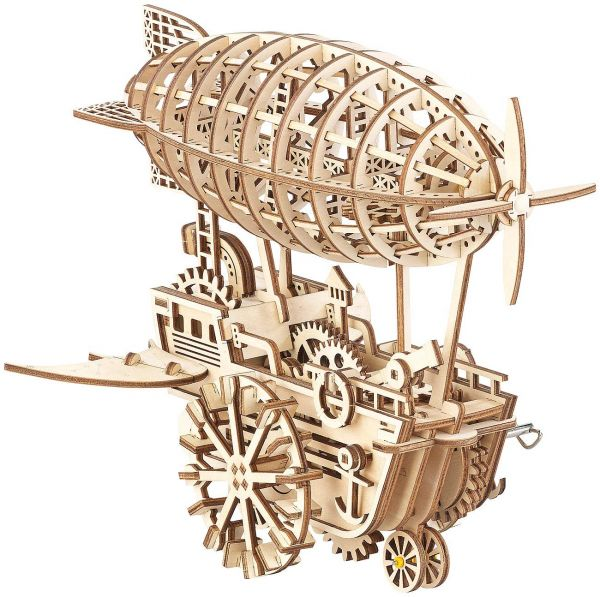 3D Holz Puzzle - Zeppelin
