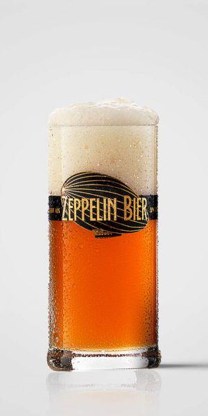 Zeppelin-Glaskrug Leibinger