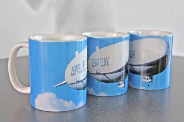 """Foto Kaffeebecher """"Zeppelin"""""""