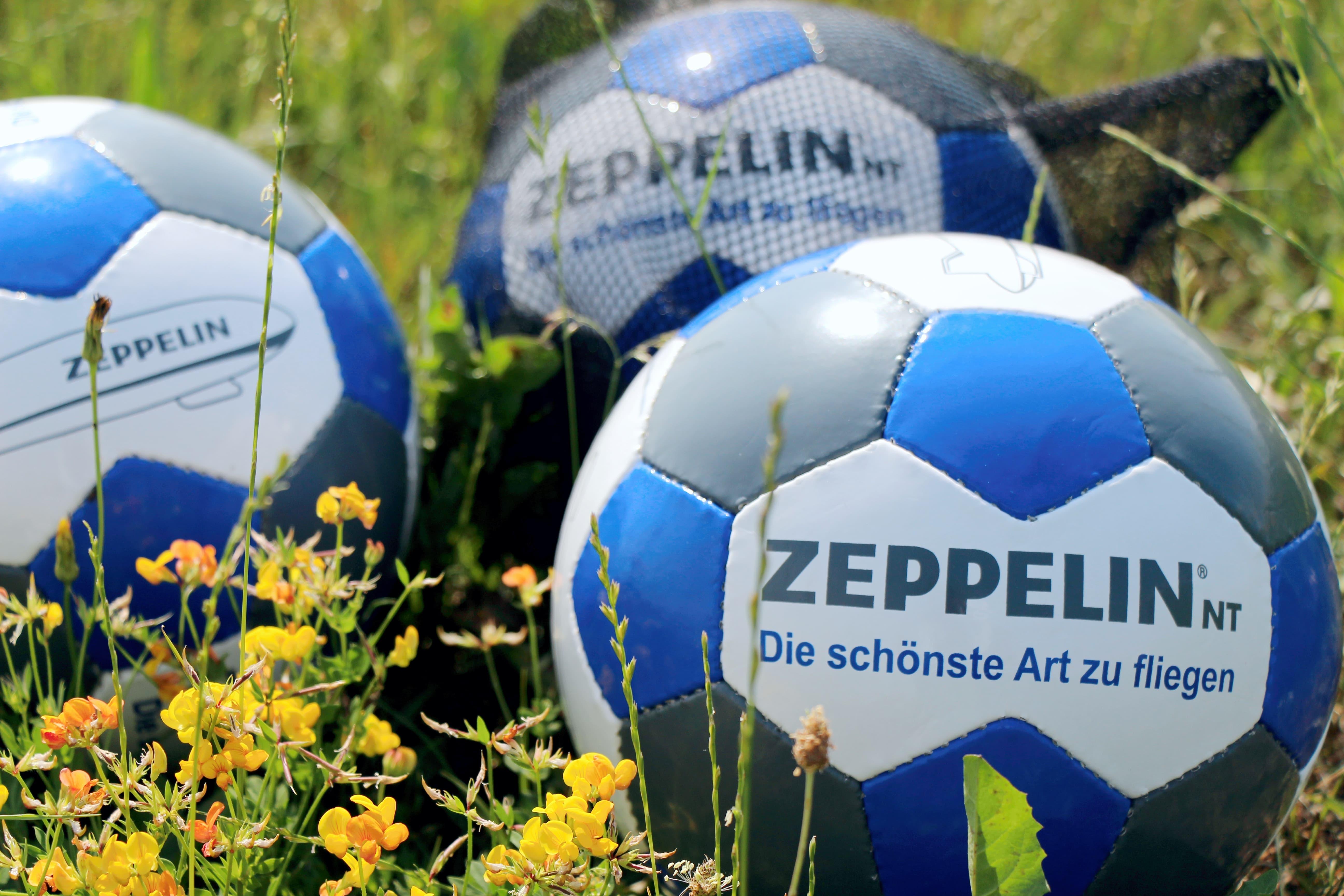 zeppelin fu ball gr e 5 zeppelin nt fanshop. Black Bedroom Furniture Sets. Home Design Ideas