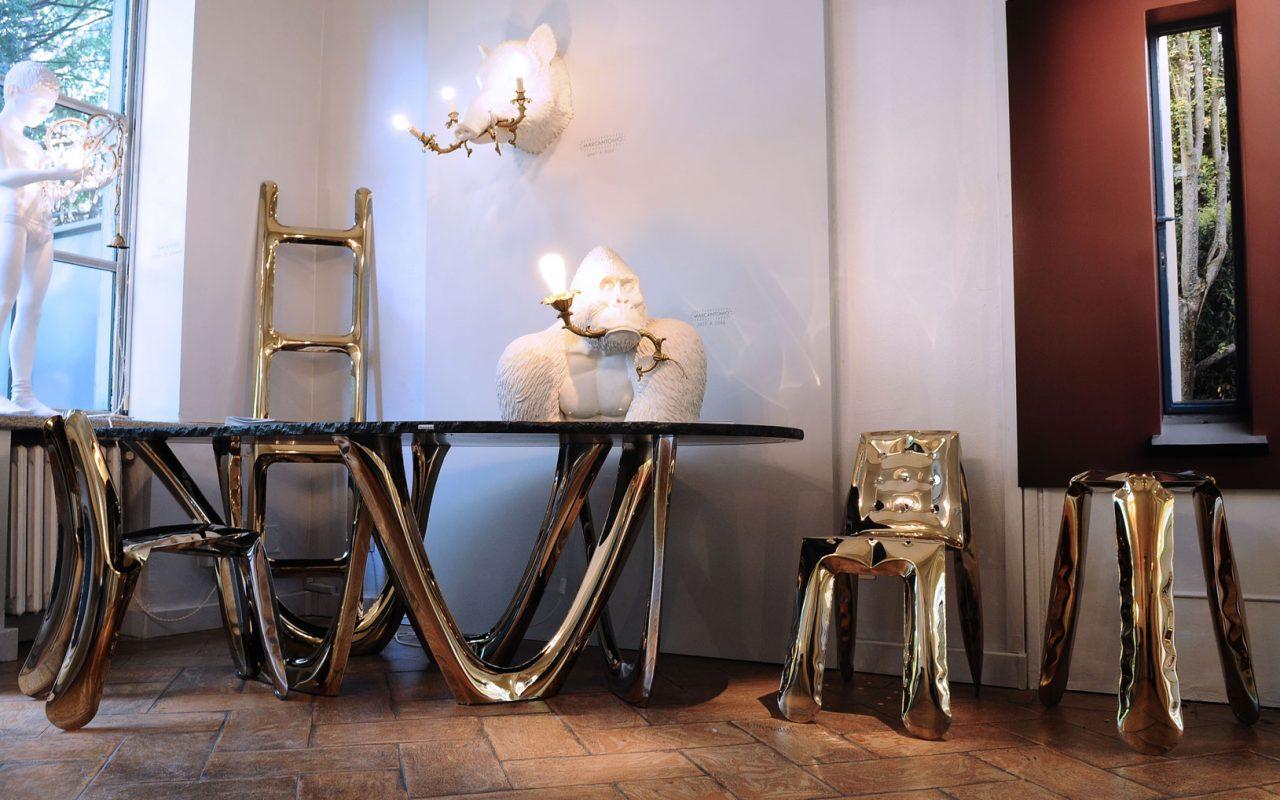 Zieta at Rossana Orlandi gallery, Rossana Orlandi gallery, Oskar Zieta, heat, furiosalone 2018, salone del mobile, milan