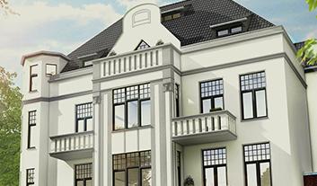 Titelbild von 'Villa Waldhof Krefeld'