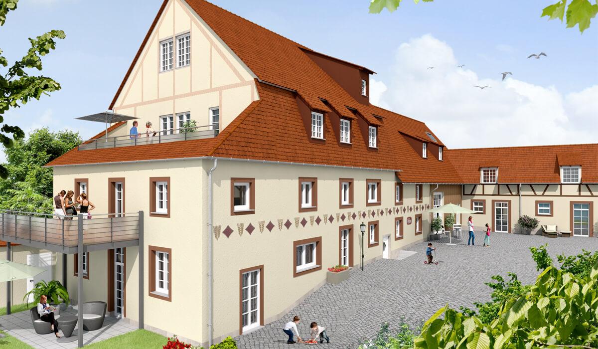 Titelbild von 'Residenz Walzenmühle'